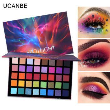 ucanbe spotlight eyeshadow palette swatch