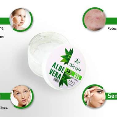 how to work skin cafe aloe vera gel