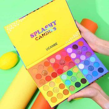 ucanbe splashy candies eyeshadow palette