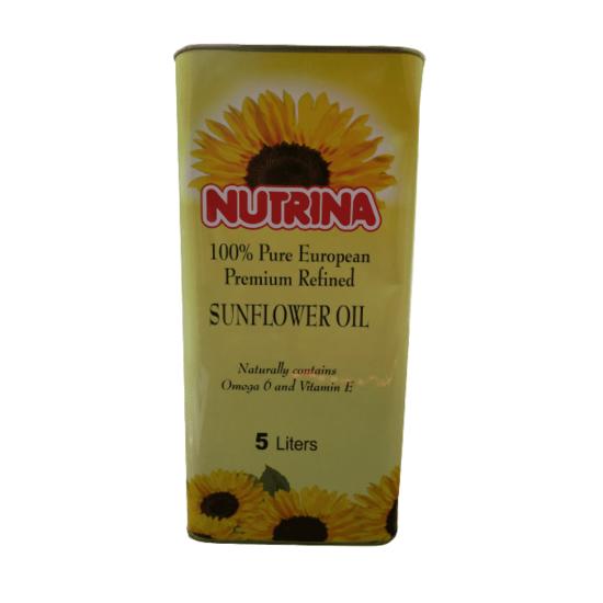 Nutrina Sunflower oil