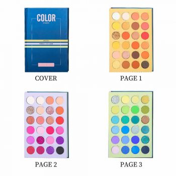 Beauty Glazed shades Palette 4