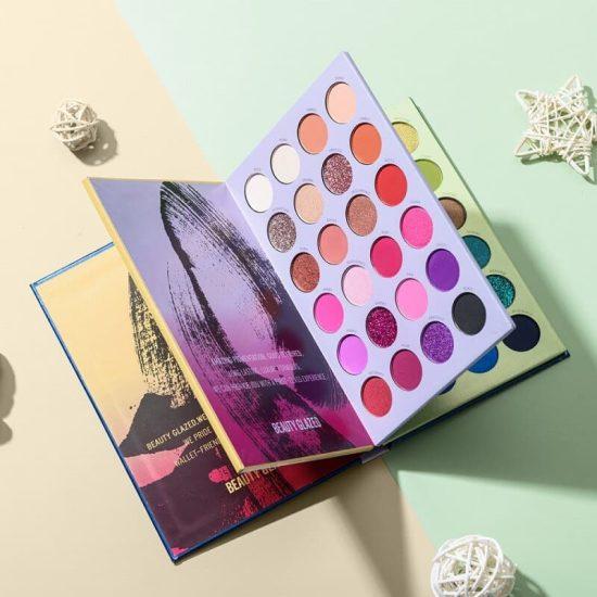 Beauty Glazed shades Palette