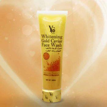Yc whitening gold caviar face wash
