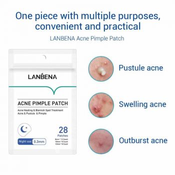 how to work lanbena acne pimple patch