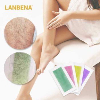 lanbena hair removal wax strips