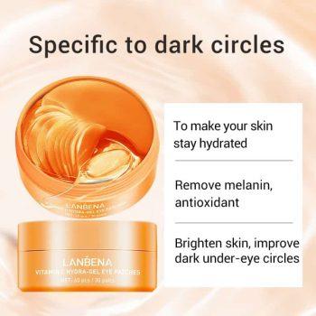lanbena vitamin c eye mask