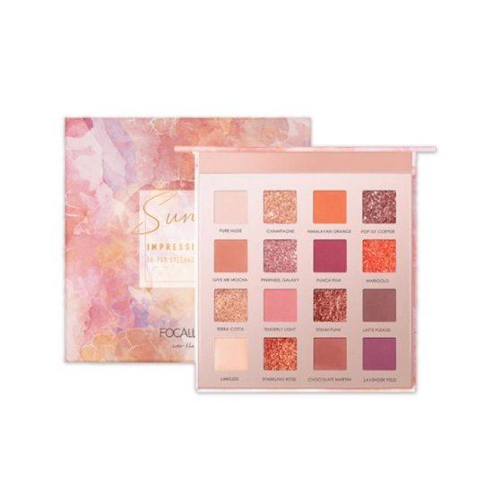 FOCALLURE 16 colors SUNRISE Eyeshadow Palette - FA88