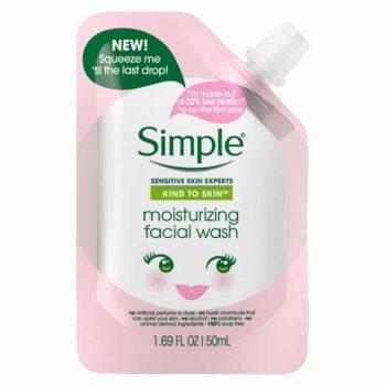 Simple Kind to Skin Mini Moisturizing Facial Wash - 50ml