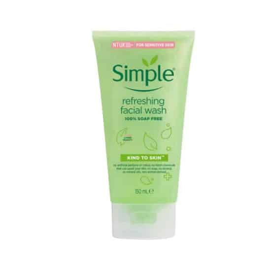 Simple Sensitive Skin Refreshing Face Wash 150ml
