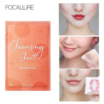 how to use focallure cleansing sheet