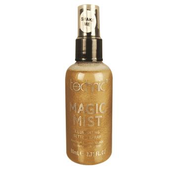 technic magic mist setting spray 24k gold