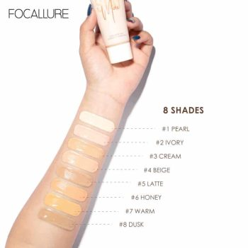 focallure stay max foundation swatch