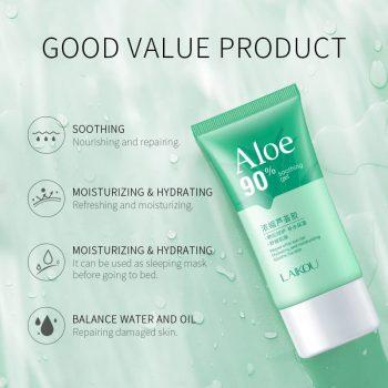 laikou aloe vera soothing gel use way