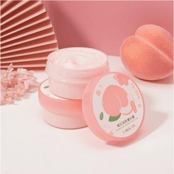 laikou peach body scrub