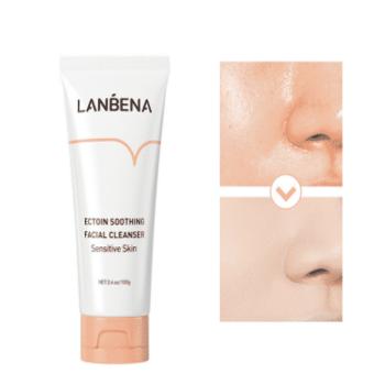 lanbena soothing face wash sensitive skin