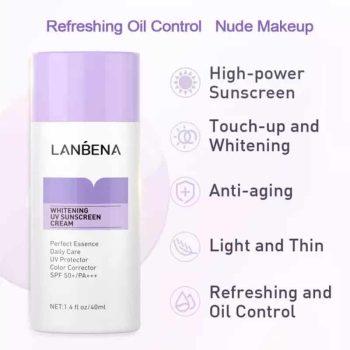 lanbena whitening uv sunscreen