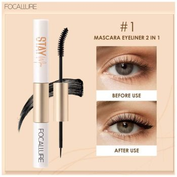 focallure mascara & eyeliner 2 in 1 - fa 160