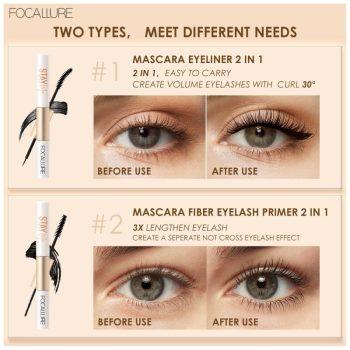 focallure staymax waterproof mascara & eyeliner 2 in 1
