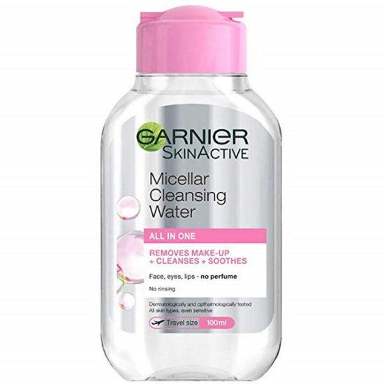 Garnier SkinActive Micellar Cleansing Water – Travel Size 100ml