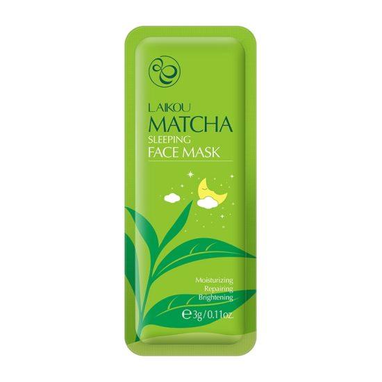 Laikou Matcha Sleeping Face Mask 3gm