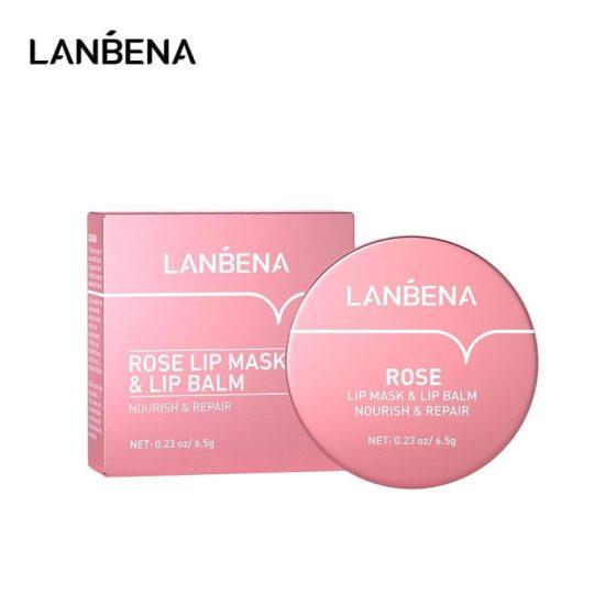 Lanbena Nourishing and Repair Rose Lip Balm - 6.5g