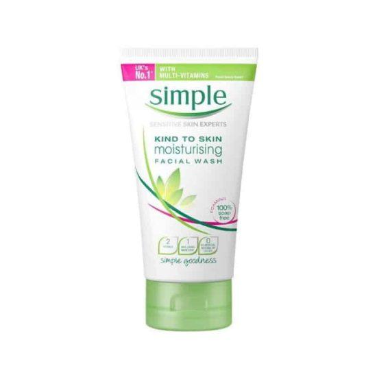 Simple Kind To Skin Moisturising Facial Wash
