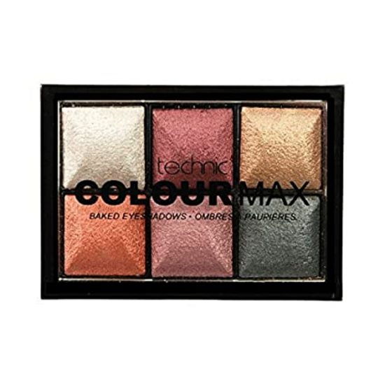 Technic Colour Max Baked Eyeshadows - 6 color