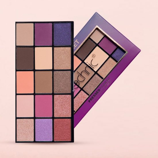 Technic Persian Violet - 15 Color Pressed Pigments Eyeshadow Palette