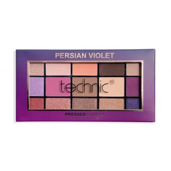 Technic Pressed Pigment Eye Shadow Palette - Persian Violet