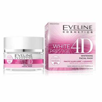 eveline white prestige 4d whitening facial mask