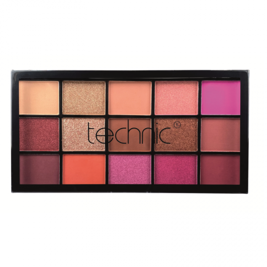 Technic Hot Love Pressed Pigment Eyeshadow Palette