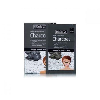 Beauty Formulas Charcoal Nose Pore Strips - 6 Pcs