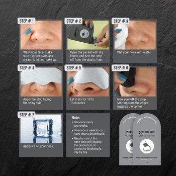 Groome Charcoal Nose Strip