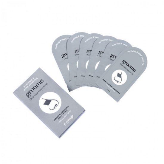 Groome Charcoal Nose Strip - 6pcs Set