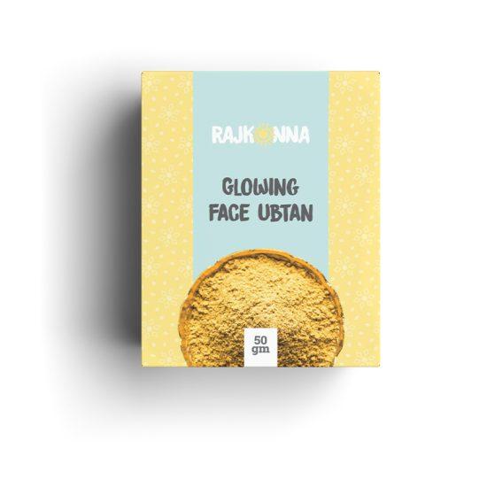 Rajkonna Face Glowing Ubtan - 50gm