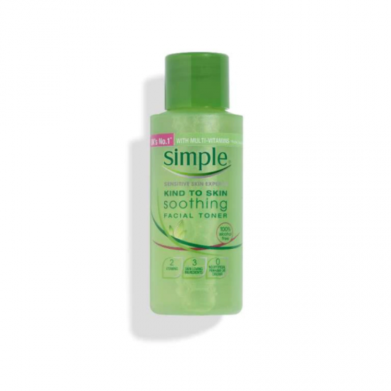 Simple Kind To Skin Soothing Facial Toner 50ml