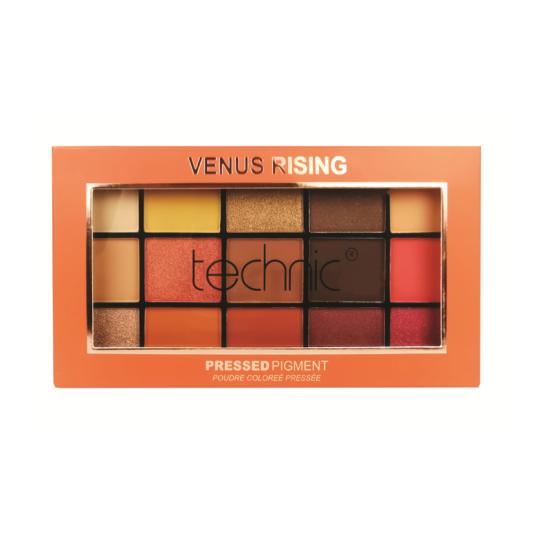 Technic venus rising pressed pigment eyeshadow palette