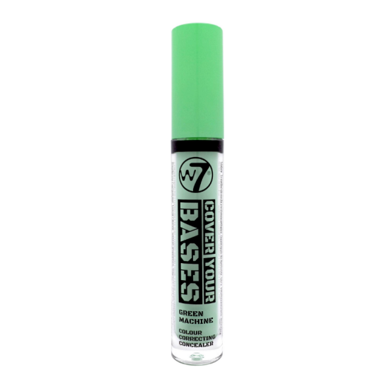 W7 Cover Your Bases Colour Correcting Concealer - Green