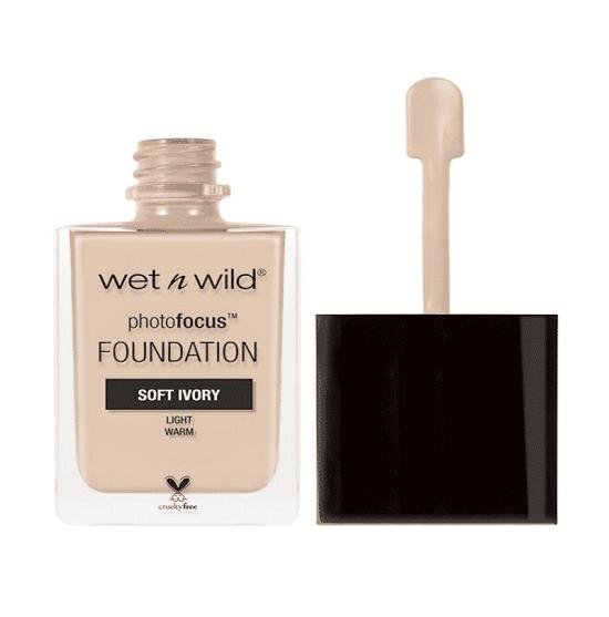 Wet N Wild Photo Focus Matte Foundation Soft Ivory