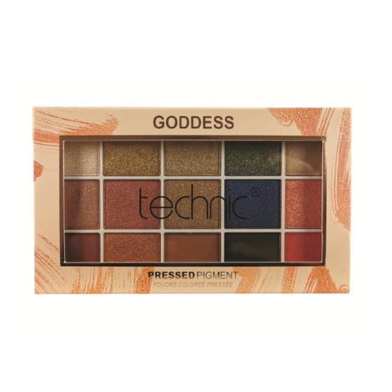 technic goddess pressed pigment eyeshadow palette