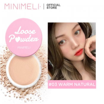 MINIMELI Loose Powder - 03 Warm Natural