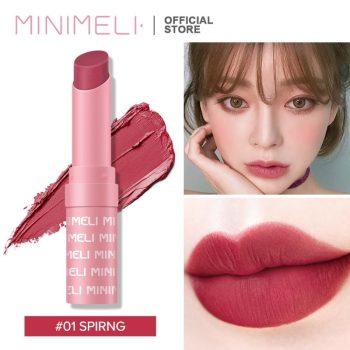 Minimeli Waterproof Matte Lipstick - 01