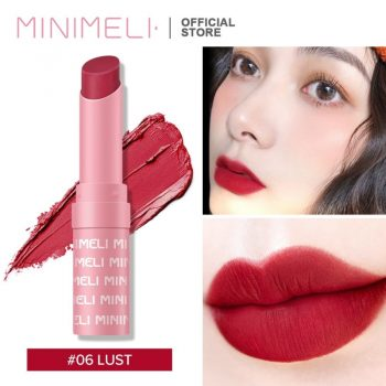 Minimeli Waterproof Matte Lipstick - 06