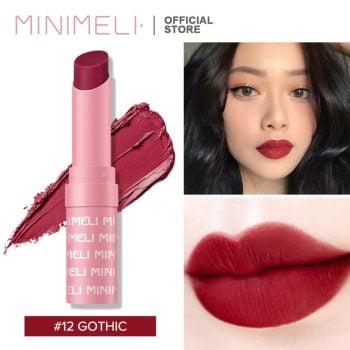 Minimeli Waterproof Matte Lipstick - 12