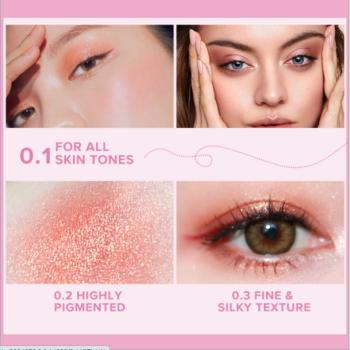 Minimeli 35 Colors Matte&glitter High Pigmented Eyeshadow Palette